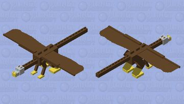 griffin dragon Minecraft Mob Skin