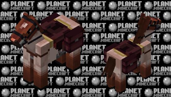 Red roan Minecraft Skin