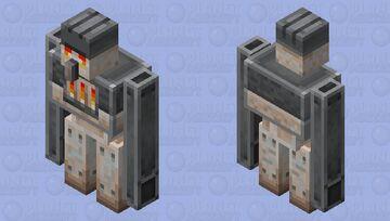 furnace golem (minecraft earth) Minecraft Mob Skin