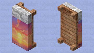 Sunshine Bed Minecraft Mob Skin