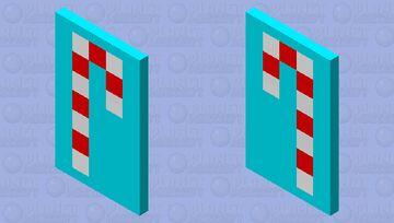 Candy Cape Minecraft Mob Skin