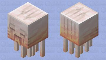 Quartz Ghast Mech Minecraft Mob Skin