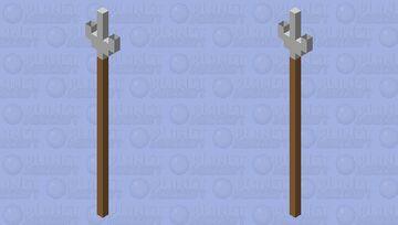 trident spear Minecraft Mob Skin