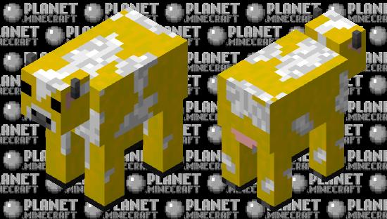 Moobloom (Programmer art) Minecraft Skin