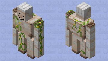A more accurate iron golem Minecraft Mob Skin