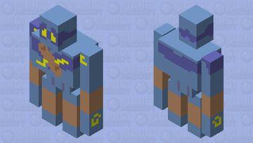 Decided I'd do Golurk Minecraft Mob Skin