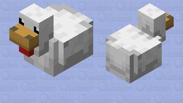 Chicken slippers. Minecraft Mob Skin