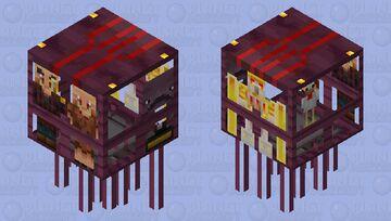 piglin airship Minecraft Mob Skin