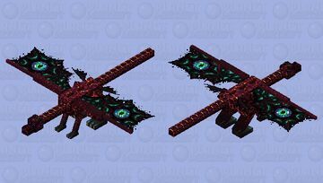 Ender dragon (winner by Kitten's contest,PMC contest; place10) Minecraft Mob Skin