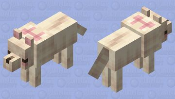 strawberry wafer ♡ tamed Minecraft Mob Skin