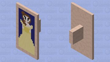 Beauty and the Beast shield Minecraft Mob Skin