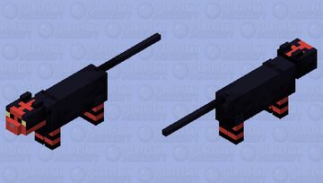 Litten Pokémon (Cat Mob Skin) Minecraft Mob Skin