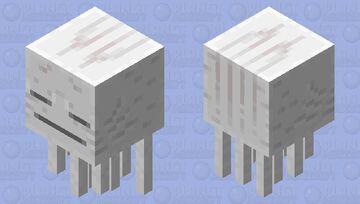 Text ghast ( -_- ) Minecraft Mob Skin