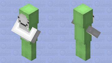 Dream villager Minecraft Mob Skin