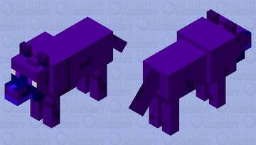 ender wolf (skin for mod) Minecraft Mob Skin