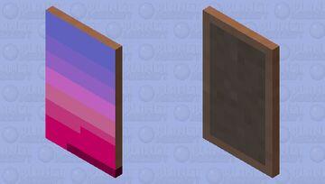 rainbow cap Minecraft Mob Skin