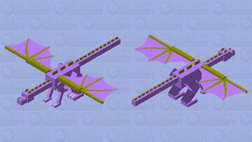 Blossom (wings of fire Dragonet) Minecraft Mob Skin