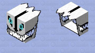 Gaster Blaster (attempt #1) Minecraft Mob Skin