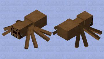 If the old spider texture was still here Minecraft Mob Skin