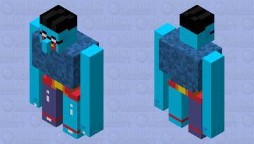 Chief Blue Meanie Minecraft Mob Skin