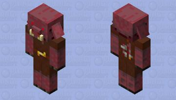 Nightmare Piglin Minecraft Mob Skin