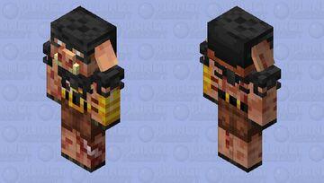 Piglin Brute (Alternative) Minecraft Mob Skin