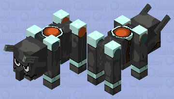 Refract Ravenger Final Minecraft Mob Skin