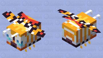 Mothra Minecraft Mob Skin