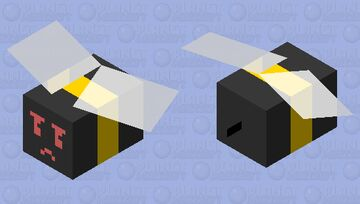 BSS: Basic Bee (mad) Minecraft Mob Skin