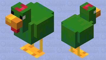 Corn Flakes Mascot Minecraft Mob Skin