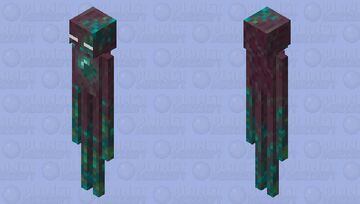Warped Enderman Minecraft Mob Skin