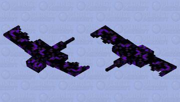 Crying Obsidian Phantom Minecraft Mob Skin