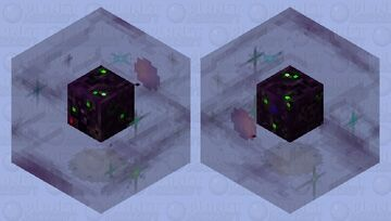 Borg cube floating in the universe... Minecraft Mob Skin