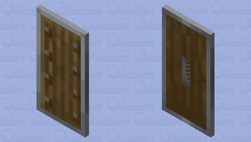 Shield with No Handle Minecraft Mob Skin