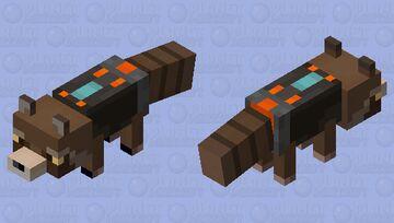 Rocket Raccoon Minecraft Mob Skin