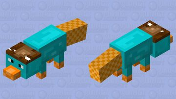Perry the Platypus? Minecraft Mob Skin