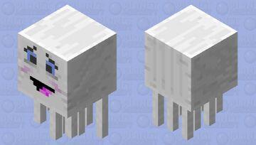 Friendly ghast Minecraft Mob Skin