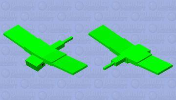 ꧁ ♥︎The Cute Green Phantom♥︎ ꧂ Minecraft Mob Skin