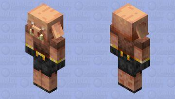 Redesigned Piglin Minecraft Mob Skin