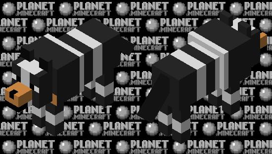 Houndour Pokémon (Wolf Mob Skin) Minecraft Skin