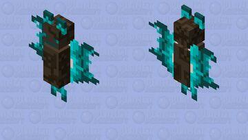 Soul Fire Bat Minecraft Mob Skin