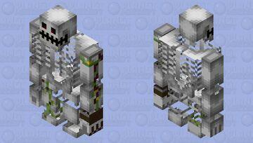 がしゃどくろ🦴𝗚𝗮𝘀𝗵𝗮𝗱𝗼𝗸𝘂𝗿𝗼🦴がしゃどくろ Minecraft Mob Skin