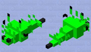 Acid Fish Minecraft Mob Skin