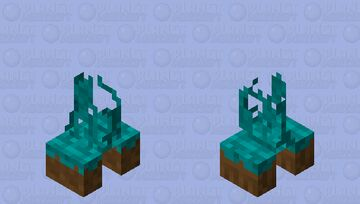 Piece of grass exproxivo Electric Minecraft Mob Skin