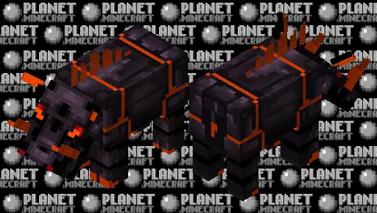 Obsidian Hoglin Minecraft Skin
