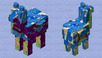Corrupted llama Minecraft Mob Skin