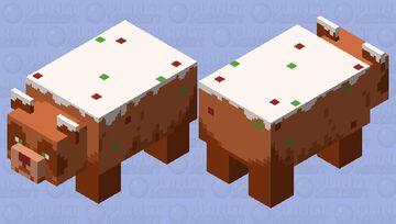 Fruitcake Panda Bear Minecraft Mob Skin