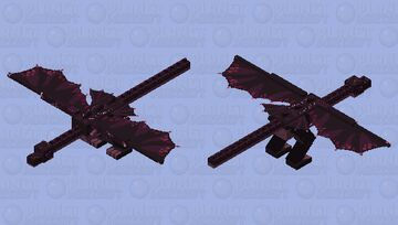 Mr. Incomplete Wyvern Minecraft Mob Skin