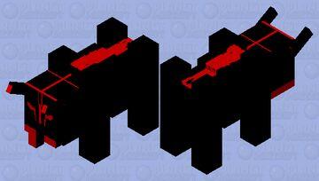 shadow Minecraft Mob Skin