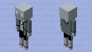 Sans the Stray Minecraft Mob Skin
